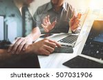 business team meeting. photo... | Shutterstock . vector #507031906