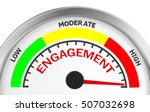engagement level to maximum... | Shutterstock . vector #507032698