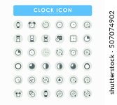 36 clock and watch icons