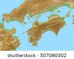 japan map   Shutterstock . vector #507080302