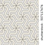 vector seamless pattern. modern ... | Shutterstock .eps vector #507117676
