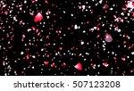 petals of cherry blossom. 3d... | Shutterstock . vector #507123208