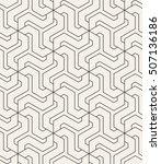 vector seamless pattern. modern ...   Shutterstock .eps vector #507136186
