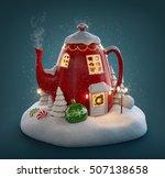 Amazing Fairy House Decorated...