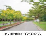 abstract blur city park bokeh... | Shutterstock . vector #507156496