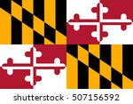 flag of maryland  a state of... | Shutterstock .eps vector #507156592