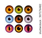 The Human Pupil Of The Eyeball...
