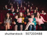 session at the cinema | Shutterstock . vector #507203488