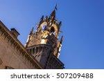 avignon city hall at night.... | Shutterstock . vector #507209488