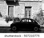 The Old Volkswagen Beetle On...
