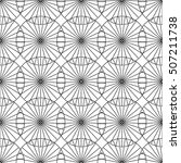seamless pattern with dotted... | Shutterstock .eps vector #507211738