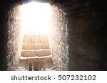 resurrection of jesus christ.... | Shutterstock . vector #507232102