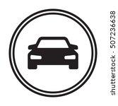 car icon. flat design. | Shutterstock .eps vector #507236638