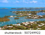 bermuda tropical landscape view ...