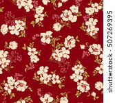 flower pattern illustration | Shutterstock .eps vector #507269395