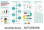 science infographic element... | Shutterstock .eps vector #507298498