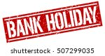 bank holiday. grunge vintage... | Shutterstock .eps vector #507299035