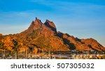 mount tetakawi  iconic landmark ... | Shutterstock . vector #507305032