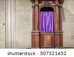 Catholic Confessional Booth Or...