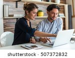 start up team | Shutterstock . vector #507372832