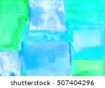 Watercolor Geometric Pattern....