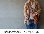 men's casual outfits standing... | Shutterstock . vector #507406132