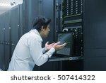 system administrator finish... | Shutterstock . vector #507414322