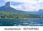 beautiful tropical beach in... | Shutterstock . vector #507439582