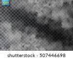 fog or smoke isolated...   Shutterstock .eps vector #507446698