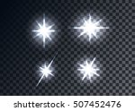 optical flares  transparent... | Shutterstock .eps vector #507452476