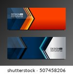business banners background ... | Shutterstock .eps vector #507458206