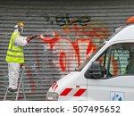 paris  france   october 2012 ... | Shutterstock . vector #507495652