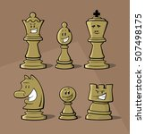 Funny Chess Pieces