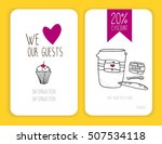 coffee discount card. template...