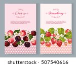 vector vertical banners with... | Shutterstock .eps vector #507540616