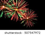 design element. new year 2017.... | Shutterstock . vector #507547972