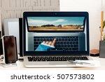 paris  france   oct 28 2016 ... | Shutterstock . vector #507573802