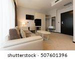 modern hotel room interior     Shutterstock . vector #507601396