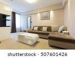 modern hotel room interior     Shutterstock . vector #507601426