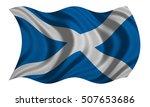 scottish national official flag.... | Shutterstock . vector #507653686