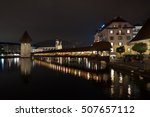 lucerne  switzerland   october... | Shutterstock . vector #507657112
