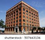 old brick building in dallas... | Shutterstock . vector #507663136