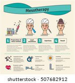 vector illustrated set with... | Shutterstock .eps vector #507682912