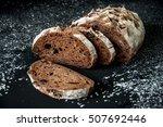 freshly baked homemade artisan...   Shutterstock . vector #507692446
