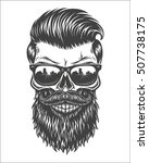 monochrome illustration of...   Shutterstock .eps vector #507738175
