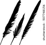 illustration with black...   Shutterstock .eps vector #507748156