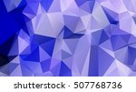 abstract geometric background.... | Shutterstock .eps vector #507768736