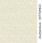 geometric seamless pattern.... | Shutterstock .eps vector #507769822