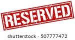 reserved. grunge vintage... | Shutterstock .eps vector #507777472