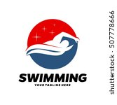 swim  swimming club  swimmer... | Shutterstock .eps vector #507778666